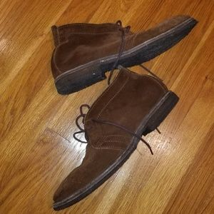 Mens FRYE Chris Crepe Chukkas